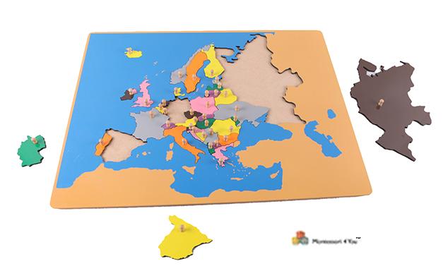 0253 Puzzle Europa Montessori