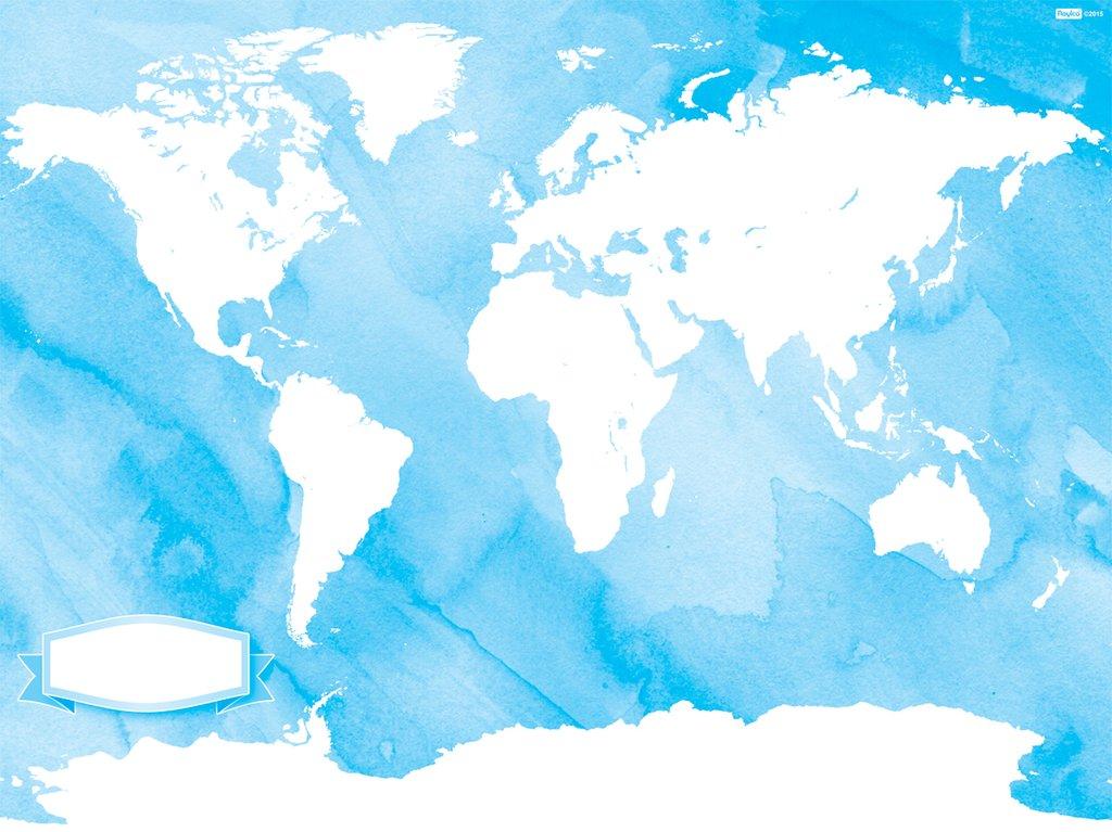 Cartina Del Mondo On Line.Mappa Del Mondo Da Colorare Montessori 4 You Store Online