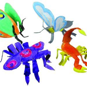 sculture insetti 1