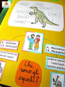 Lapbook e kit dei dinosauri 6+ anni