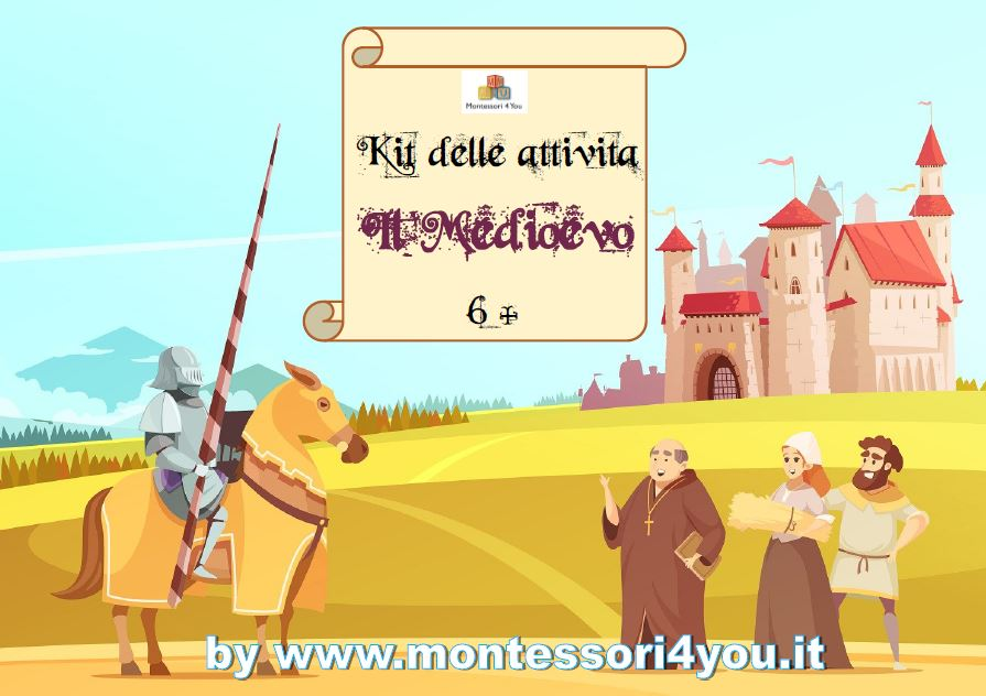 kit medioevo 6+ anni