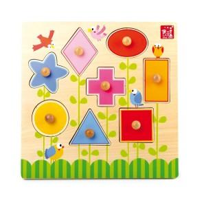 incastri piani - montessori 4 you - spazio montessori giochi - small foot company formine