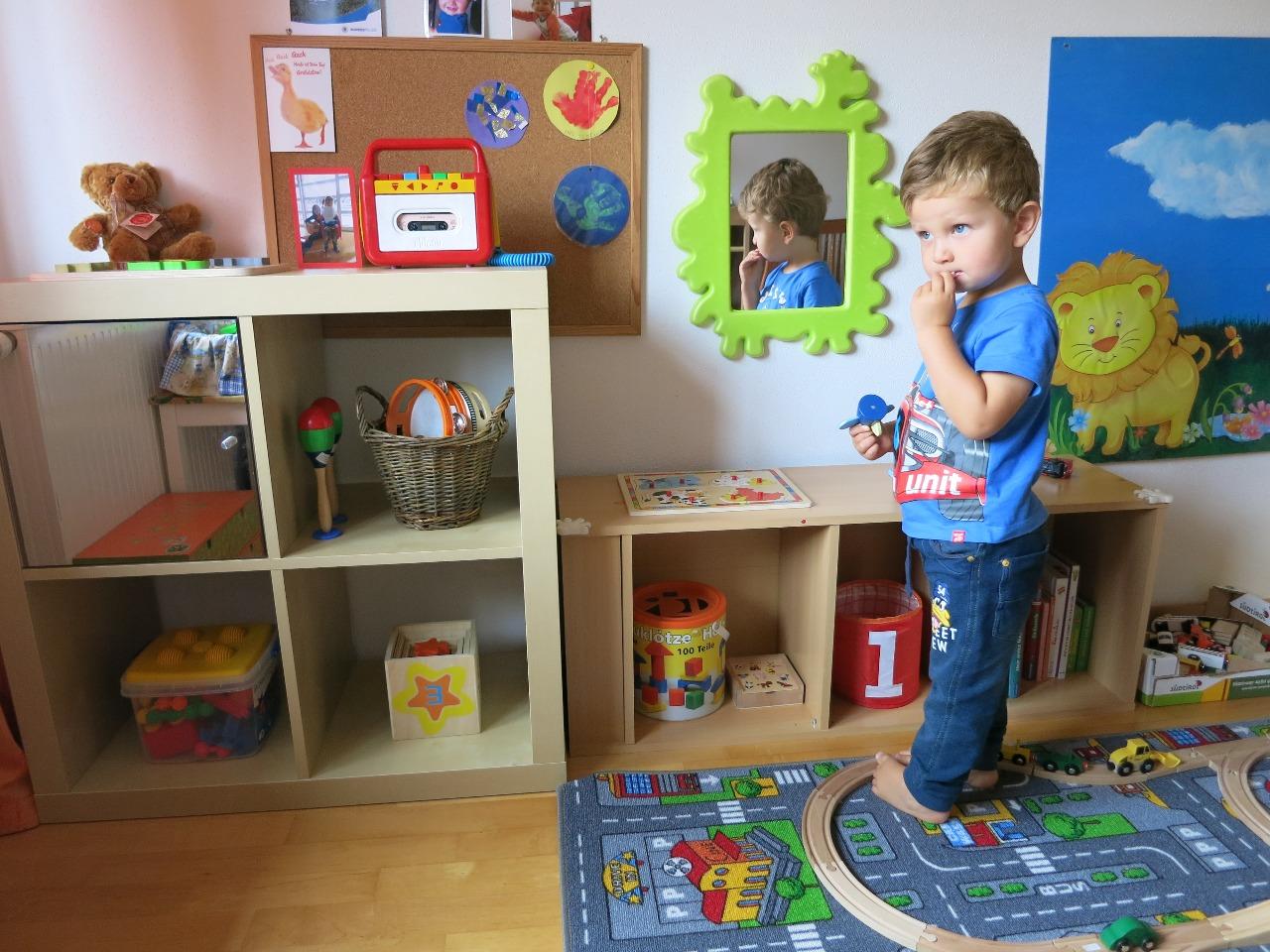 Camera Bambini Montessori: Camerette per bambini. Stanza a misura ...