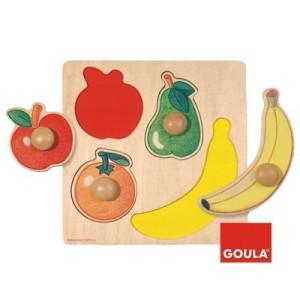 incastri piani - montessori 4 you - spazio montessori giochi - goula 54000 puzzle frutti