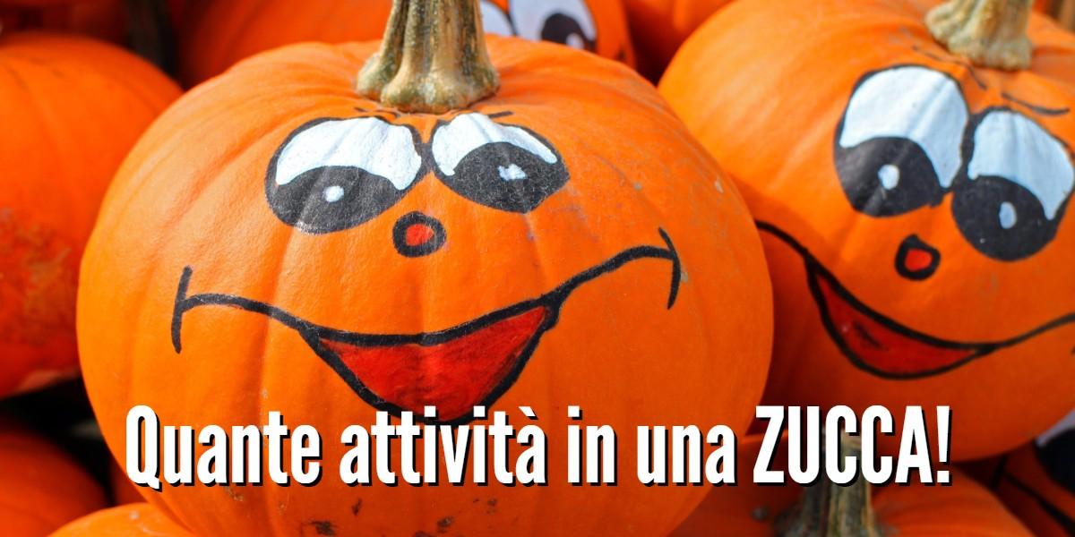 Immagine Zucca Di Halloween 94.Quante Attivita In Una Zucca