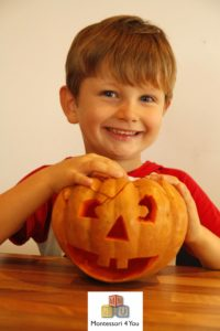 attività zucca halloween