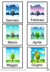 imparare le stagioni