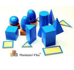 Solidi geometrici Montessori