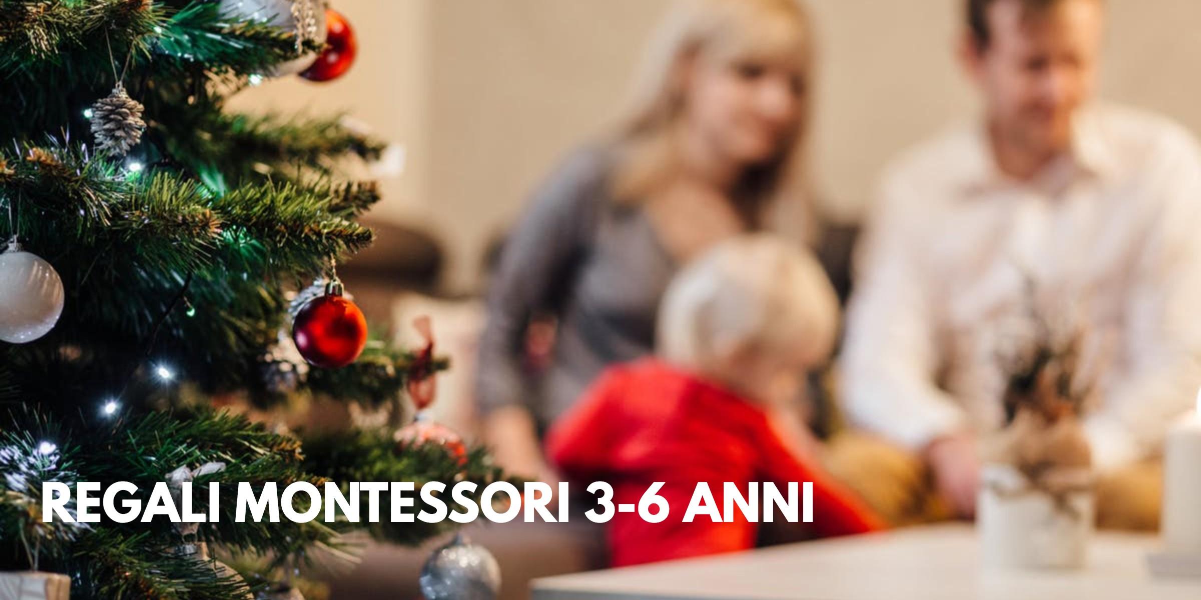 Regali Di Natale 3 Anni.Regali In Stile Montessoriano 3 6 Anni