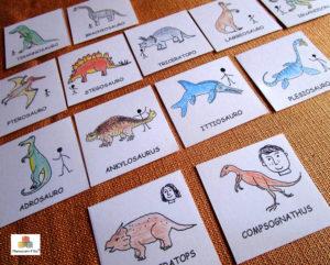 Laboratorio e kit attività dinosauri 3-6 anni