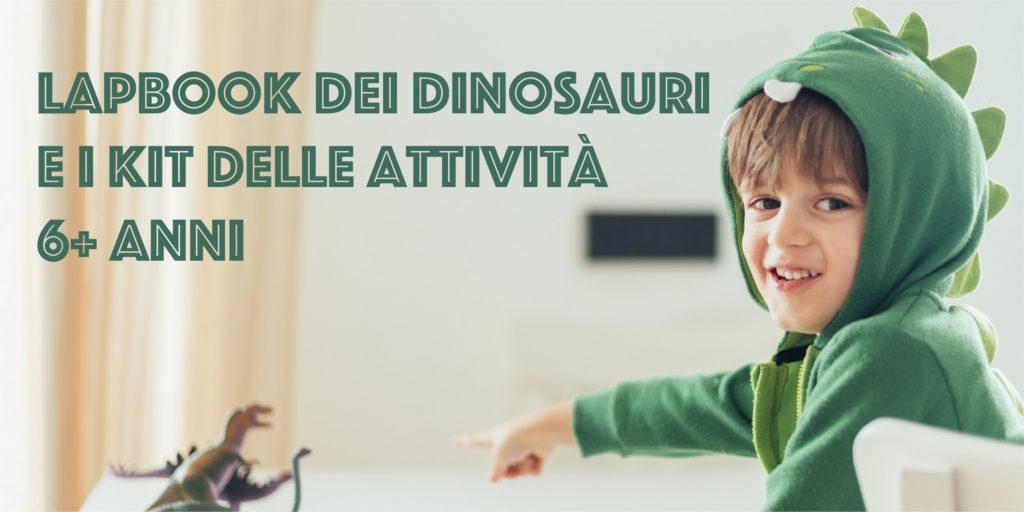 Lapbook dei dinosauri e kit delle attività 6+ anni