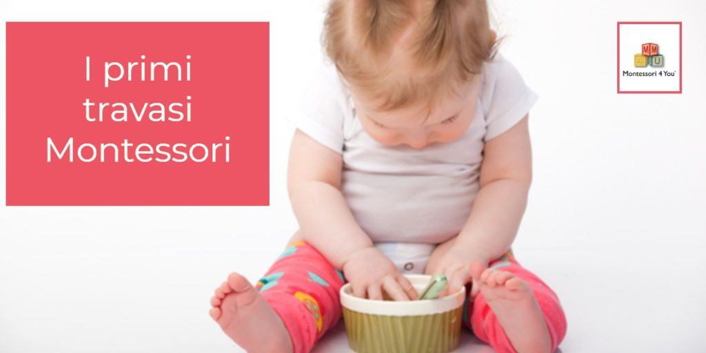 I primi travasi Montessori